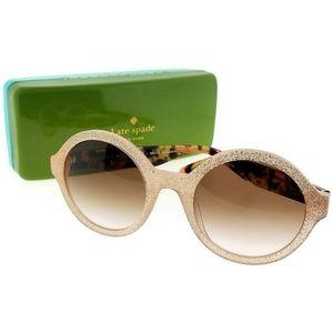 KHRISTA-S-S2E-52 Women's Gold Frame Sunglasses